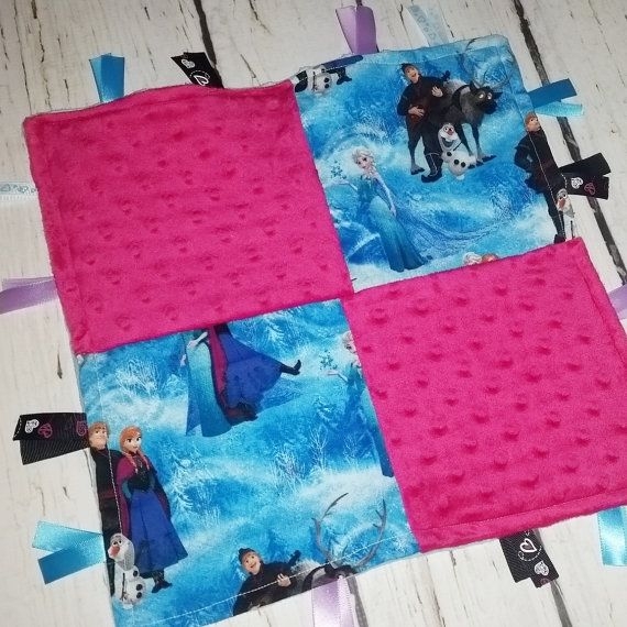 ONLY ONE LEFT Frozen tag blanket Girls by AngelCreationBoutiqu