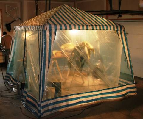 Temporary Spray Booth   Google Search