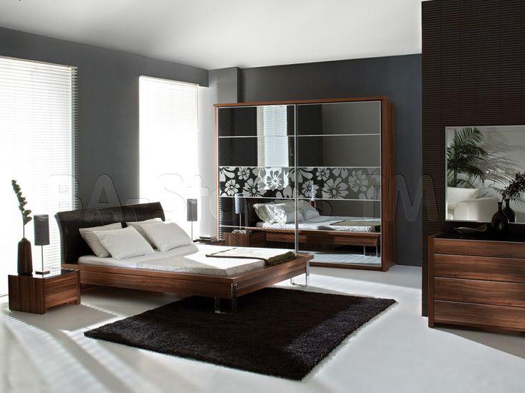 Modern bedroom sets wood