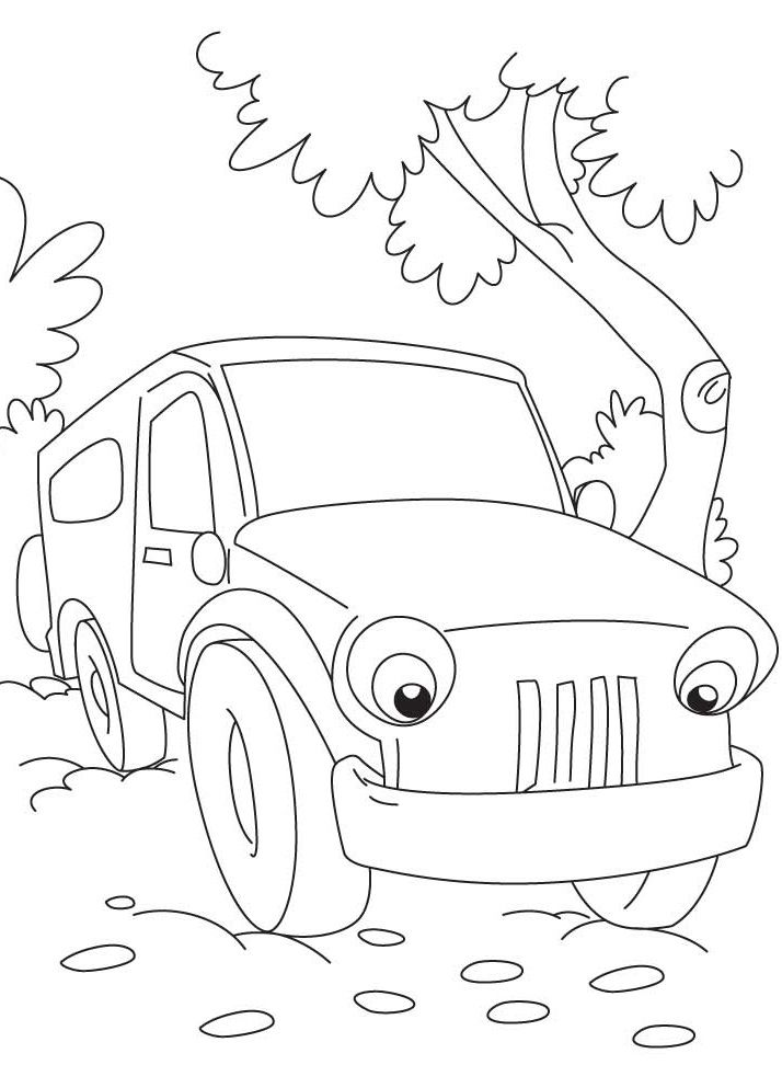 26 best images about Jeep Coloring