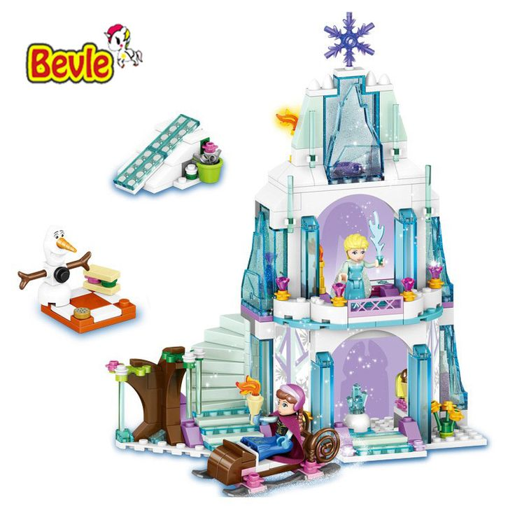 >> Click to Buy << Bevle Girls Friends 41062 Elsa's Ice Castle Building Blocks Princess Anna Olaf Toys Compatible with Lepin Princess #Affiliate