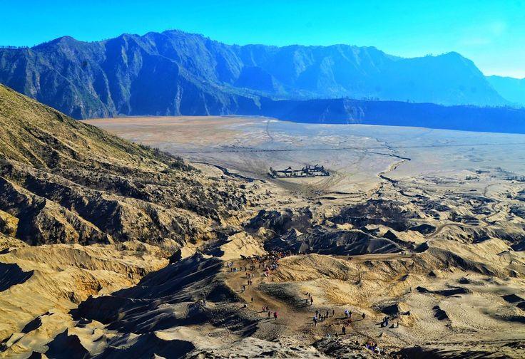 Morning from above Bromo Mountain,  East Java,  Indonesia #travelgram #gravitytravel #gravityaroundme