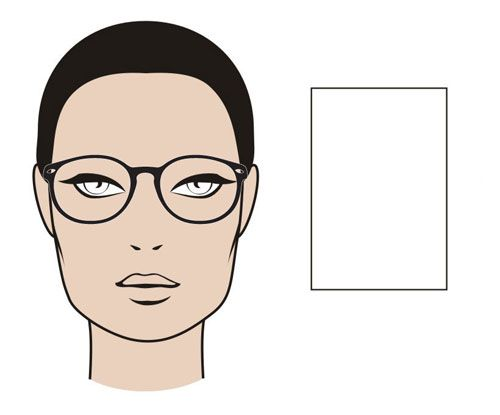 "The ""Rectangle"" Face Shape - MGAM Glasses Guide"