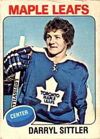 DARRYL SITTLER OPC HOCKEY CARD