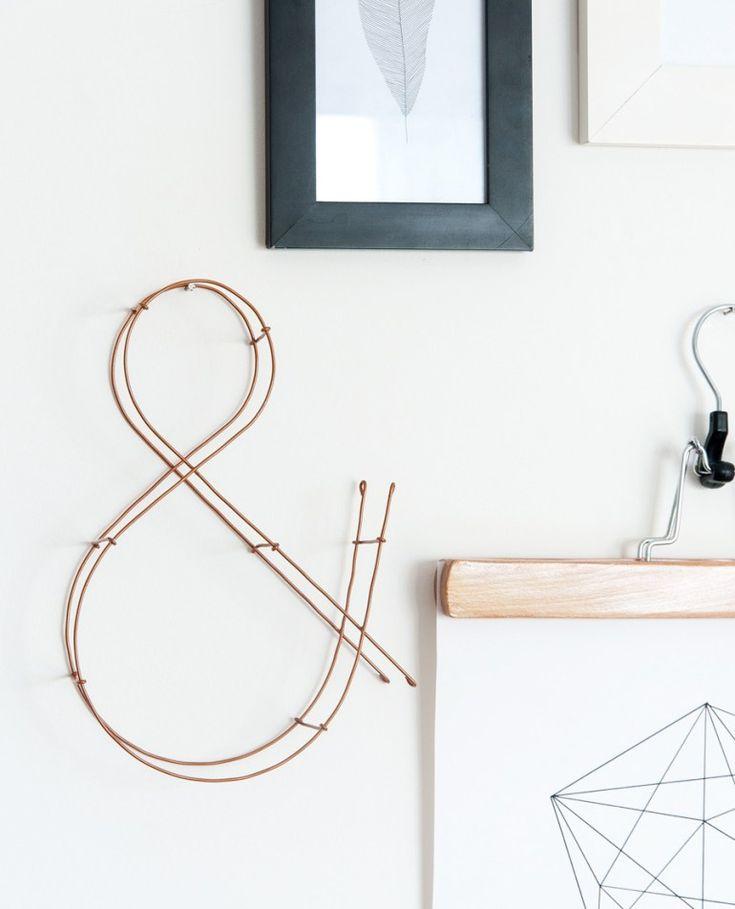 Un tuto pour faire une lettre en 3D en fil de fer