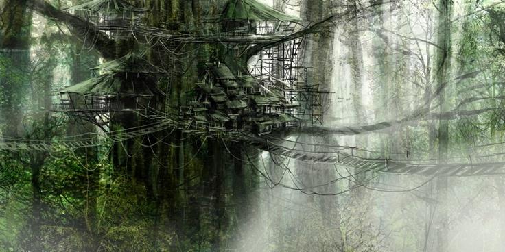 Drew Sheneman | casa en árbol