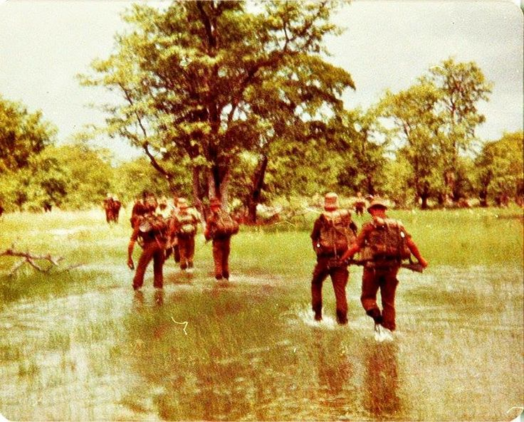 Wet Soshonna Vamboland South African Border War