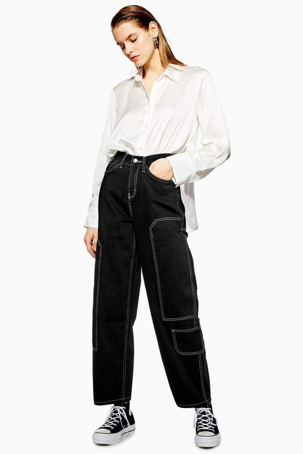 Cargo '90s Baggy Jeans by Boutique #jeans