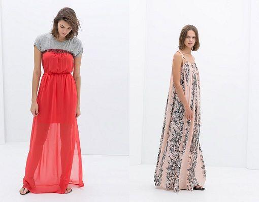 vestidos largos zara de fiesta