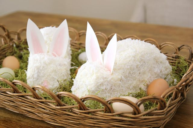 Jenny Steffens Hobick: Easter Bunny Cake   Continuing Granny's Tradition   Coconut Cake