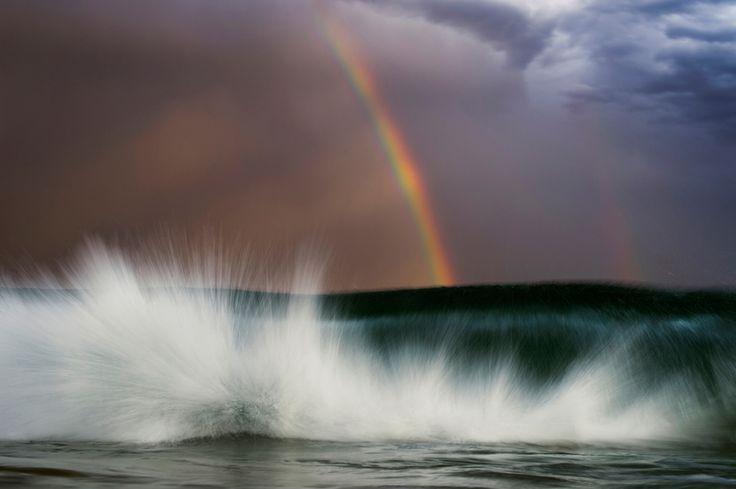 Fotografie di maestose onde dell'oceano, di Ray Collins