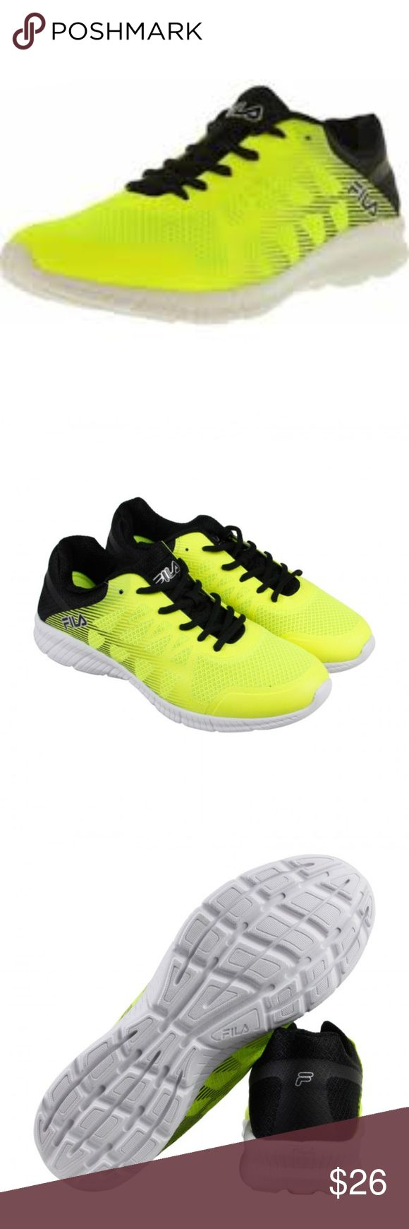 Fila Memory Finity Ankle-High Running Shoe combination mesh and synthetic  upper padded collar and