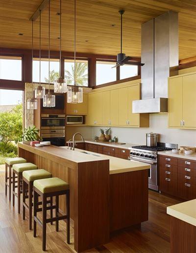 THE SECRET BEACH COMPOUND   Hawaii Luxury Homes   Mansions For Sale   Luxury Portfolio   Luxury Kitchen   Hawaii
