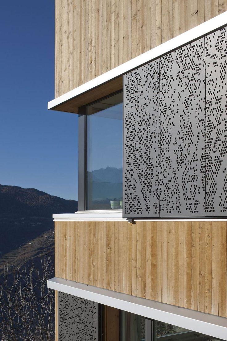 Sliding shutters / for facades Bruag