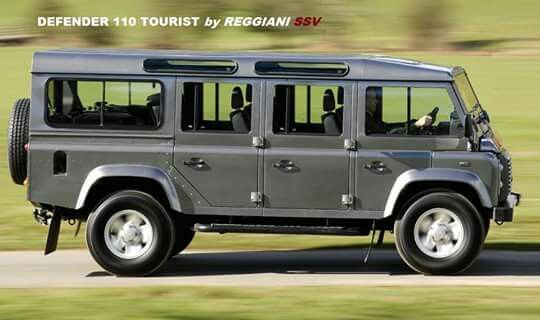Land Rover Defender 110 Bus converter? Glups!