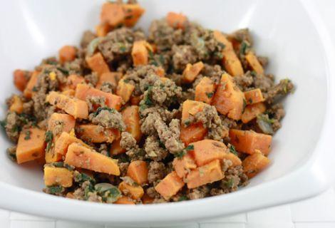 Beef & Sweet Potato Hash: Beef Sweet, Sweets, Potatoes, Beef Hash, Sweet Potato Hash, Healthy Food, Paleo Recipes