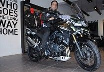 Triumph Motorcycles India launches Exclusive Showroom In Jaipur