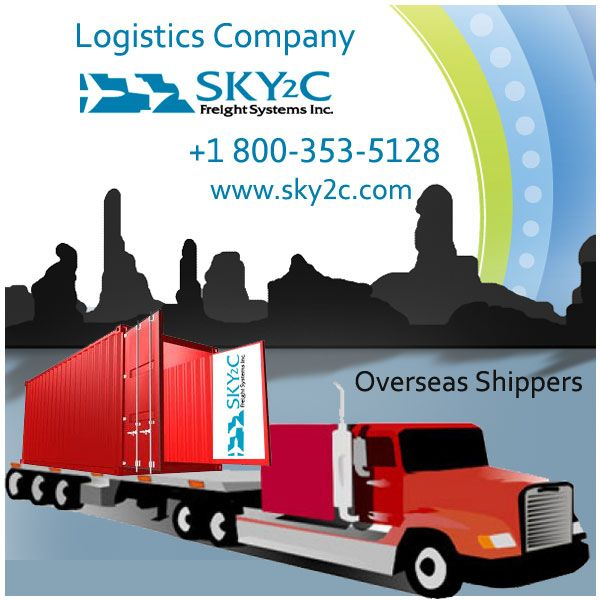 Shipping To India Methods and Cost by Sky2c Freight Systems Inc