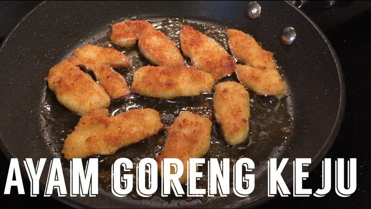 VLOG Masak Chicken Alfredo Pasta | Ayam Goreng Keju | Favorite Keluarga ...