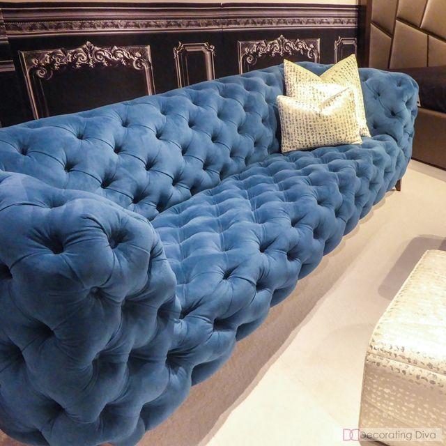 529 Best Images About Blue Velvet Sofa On Pinterest Blue