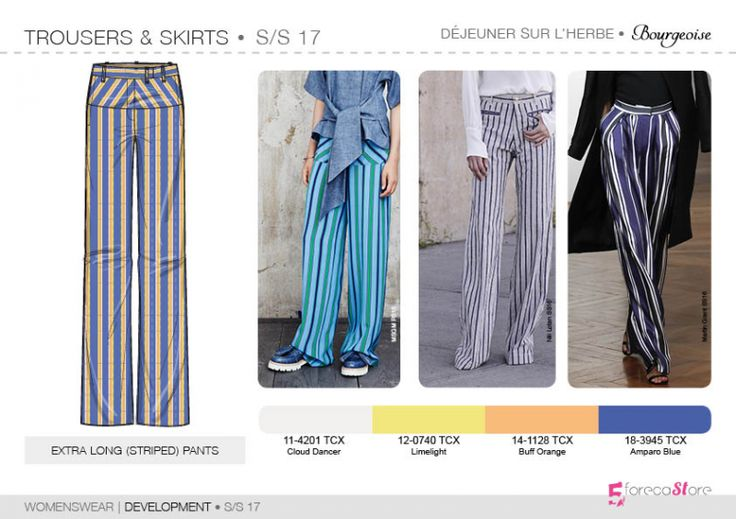 See the new forecasting fashion trends about Bourgeoise, Flamboyant, Impression…
