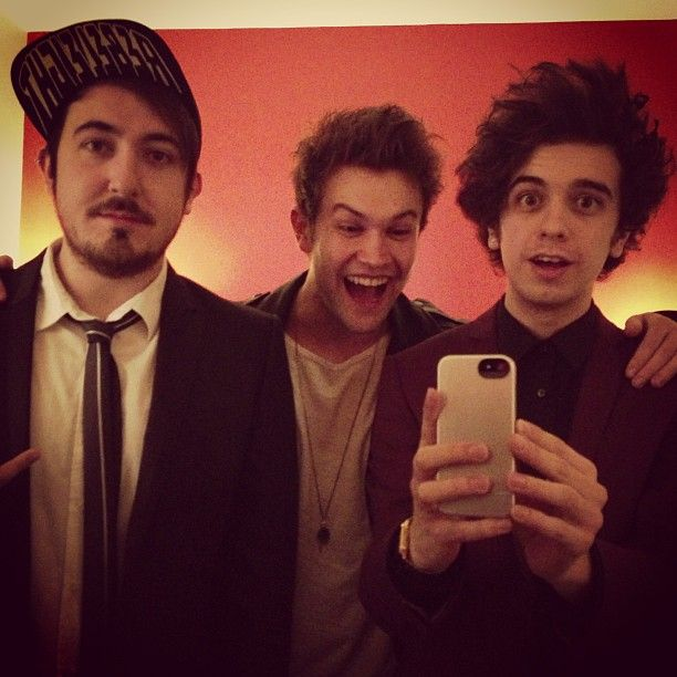 Pre-grammy party The Midnight Beast.
