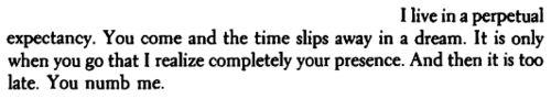 """""""You numb me.""""  ~Henry Miller"""