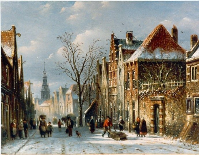 Johannes Franciscus Spohler (Rotterdam 1853-1894 Amsterdam) Daily activities - Dutch Art Gallery Simonis and Buunk Ede, Netherlands.