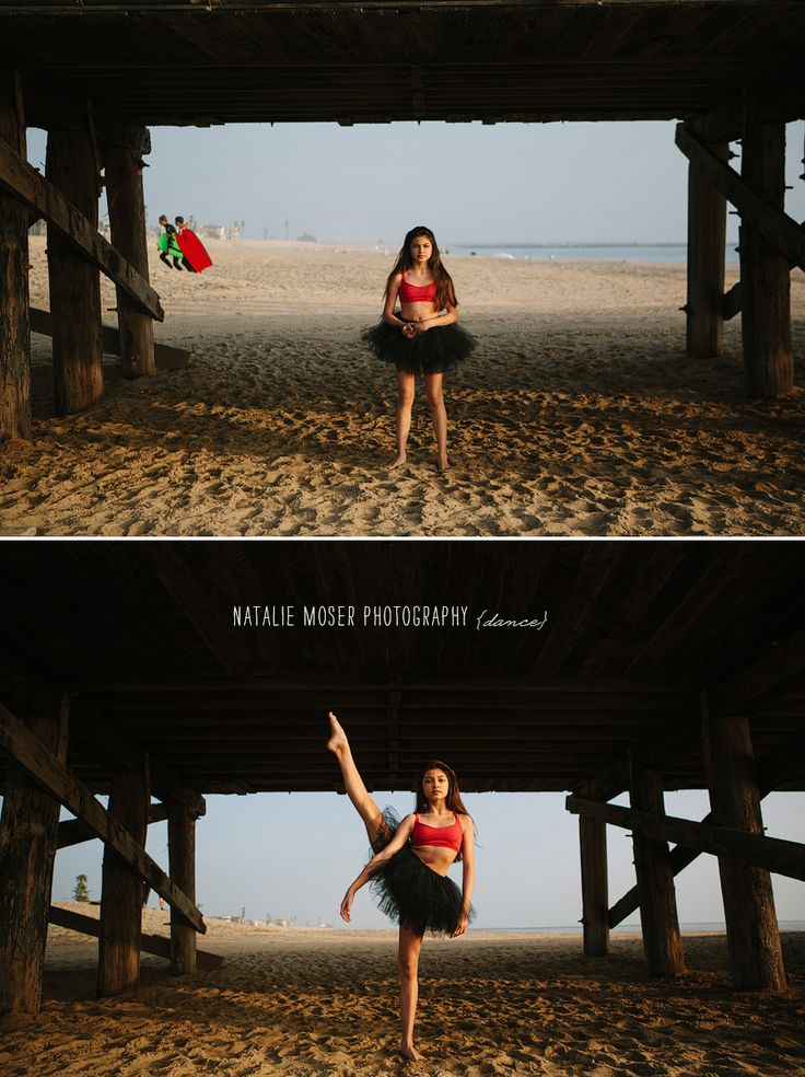 Ballet at the Beach // Dance Portrait by Natalie Moser Photography