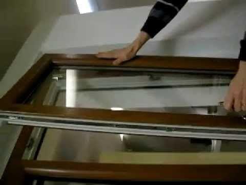 sblocco anta ribalta finestra internorm - YouTube