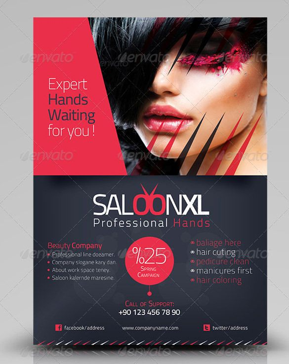 78 Beauty Salon Flyer Templates Psd Eps Ai