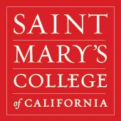 Saint Mary's College of California's library pins the databases it deems most essential for student and faculty research. Pins lead directly to links to these databases, at which point authorized users can login and begin an information search.