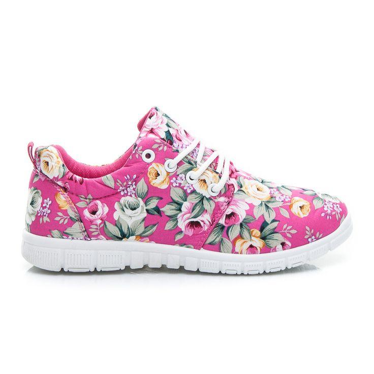Adidasy w kwiaty