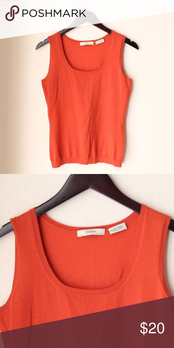 Niemen Marcus Cashmere Collection Tank Still bright and in great condition Neiman Marcus Tops Tank Tops