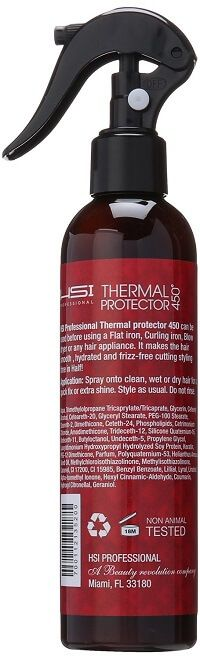 HSI PROFESSIONAL Thermal Protector 450 with Argan oil...Read More at http://www.hairstraightenermodels.com/heat-protectant-damaged-hair/