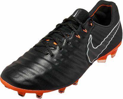 8da953e3d9 Nike Tiempo Legend 7 Elite FG – Black Total Orange