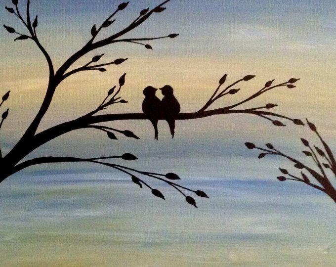 Diese Liste ist meine ursprünglichen schwarzen und weißen Acryl-Malerei von Liebe Vögel - fertig auf einen Keilrahmen Größe 8 x 10 Zoll und bereit sind, an die Wand hängen.  Mehr von meiner Arbeit finden Sie unter: www.etsy.com/shop/preethiart  Bitte lassen Sie mich wissen, wenn Sie Fragen zu diesem Angebot haben.