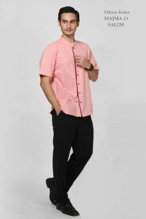 Baju Kemeja Pria Koko MAJMA 13 SALEM - Ramadhan Sale