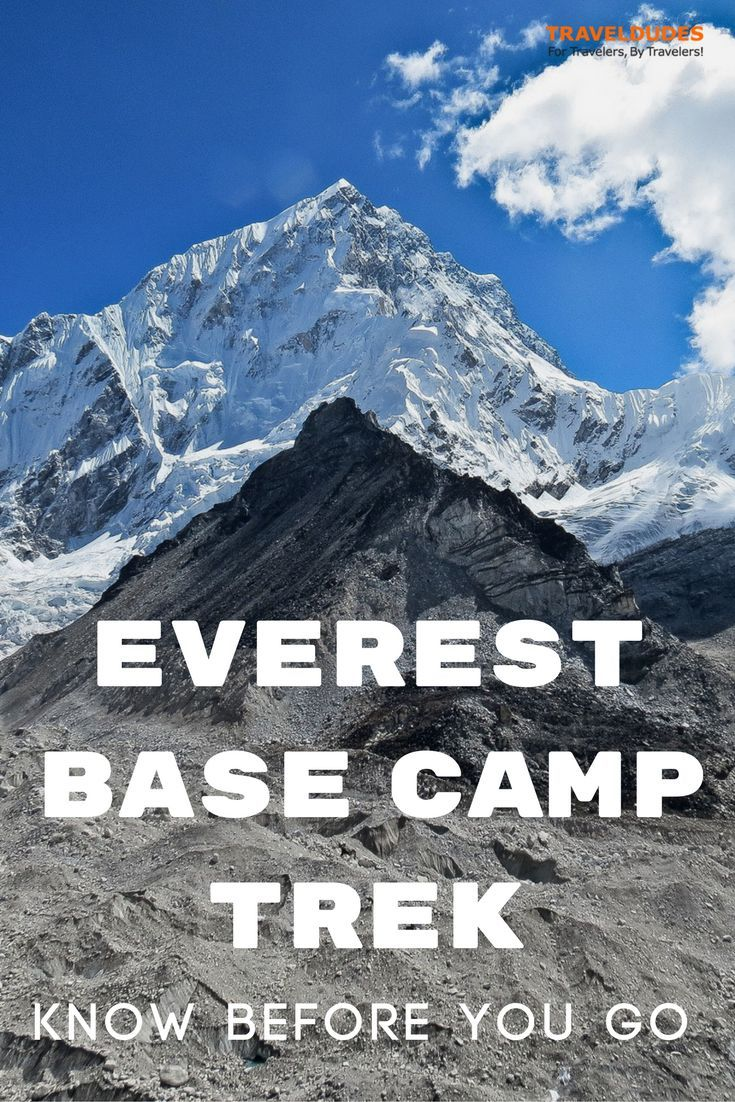 Practical tips for planning a trek to Everest Base Camp in Nepal. Important aspects to consider before embarking on the adventure of a lifetime. | Blog by Travel Dudes: Community for Travelers, by Travelers!
