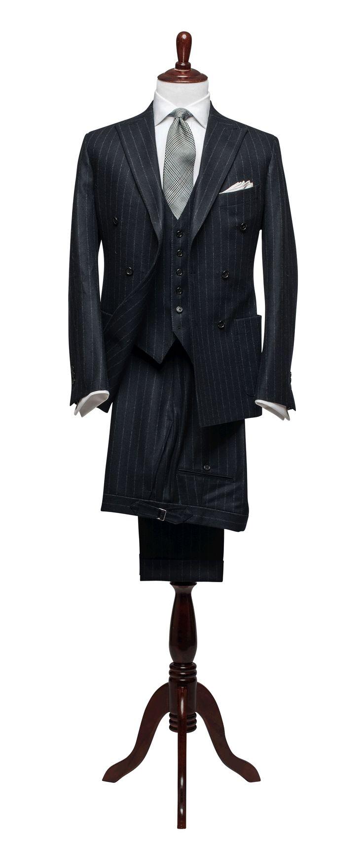 Articles of Style: Twenties Chalkstripe