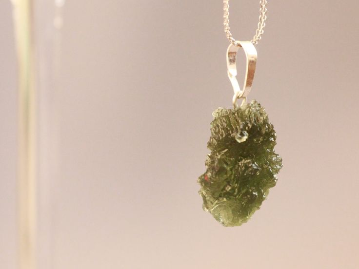 Moldavite necklace  Czech Republic