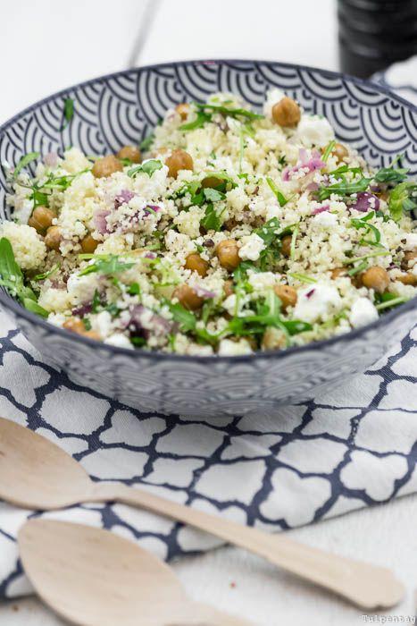 Couscous-Salat vegetarisch Couscous Rezept Büro