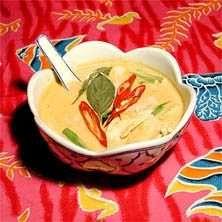 Receptet kommer från restaurang Sabai Sabai