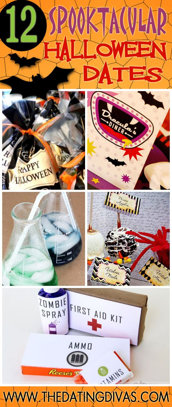 12 Spooktacular Halloween Dates (Divas Community Exclusive)