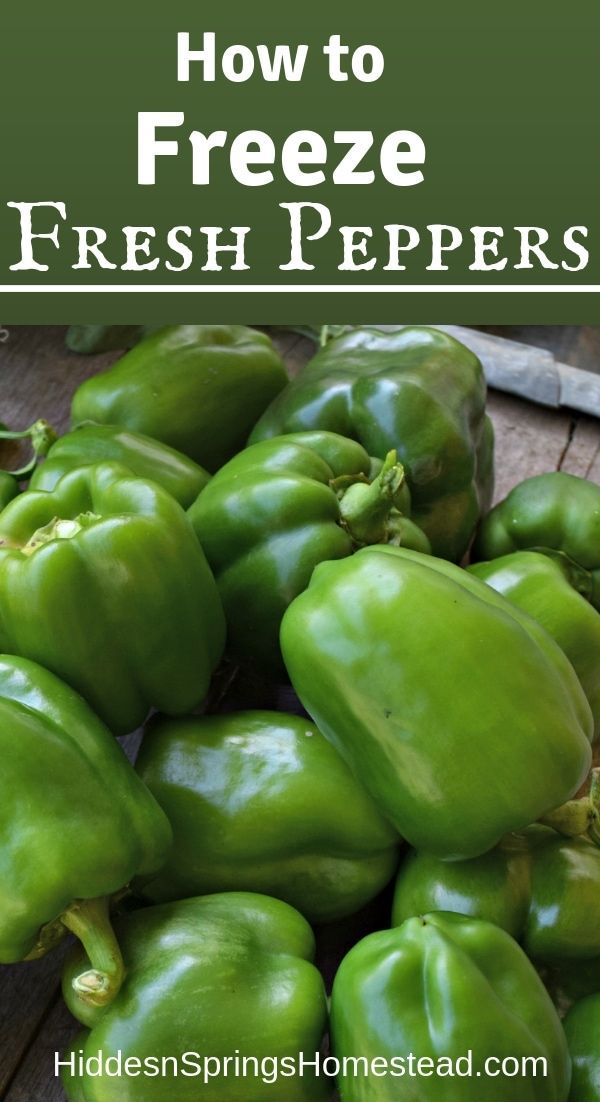 You Can Learn How To Freeze Fresh Peppers Stuffed Peppers Frozen Fresh Freezing Peppers