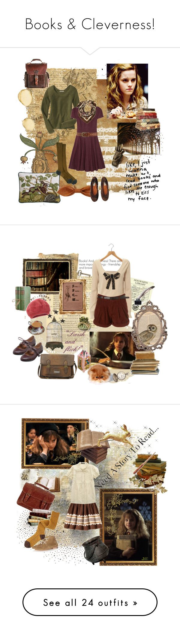 """Books & Cleverness!"" by missaquarius ❤ liked on Polyvore featuring Retrò, Dorothy Perkins, Old Navy, TIBI, ReLuxe, Forever 21, Maria La Rosa, Lanvin, vintage hermione granger harry potter hogwarts university leraning reading library poetry dreaming s and Warehouse"