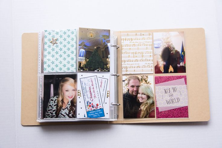 2015 December Daily®   A 6x8 Pocket Page Holiday pocket page scrapbook by Turquoise Avenue
