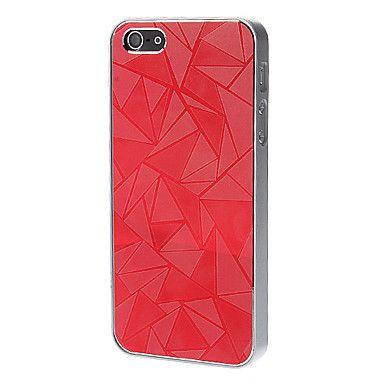 Triangle Glossy Elektro vanskelige sakene for iPhone 5/5S – NOK kr. 34