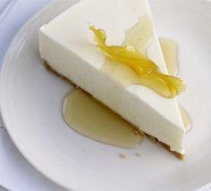 Lemon quark cheesecake - quark makes it lower in fat