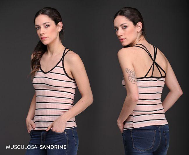 #MusculosaSandrine #BretelesMúltiples #Novedades